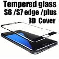3D полное покрытие Из Закаленного Стекла Для Samsung Galaxy S6 edge plus s7edge Screen Protector Взрывозащищенные Защитное Стекло Фильм гвардии