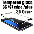 3D full cover Tempered Glass For Samsung Galaxy S6 edge plus s7edge Screen Protector Explosion-Proof Protective Glass Film guard
