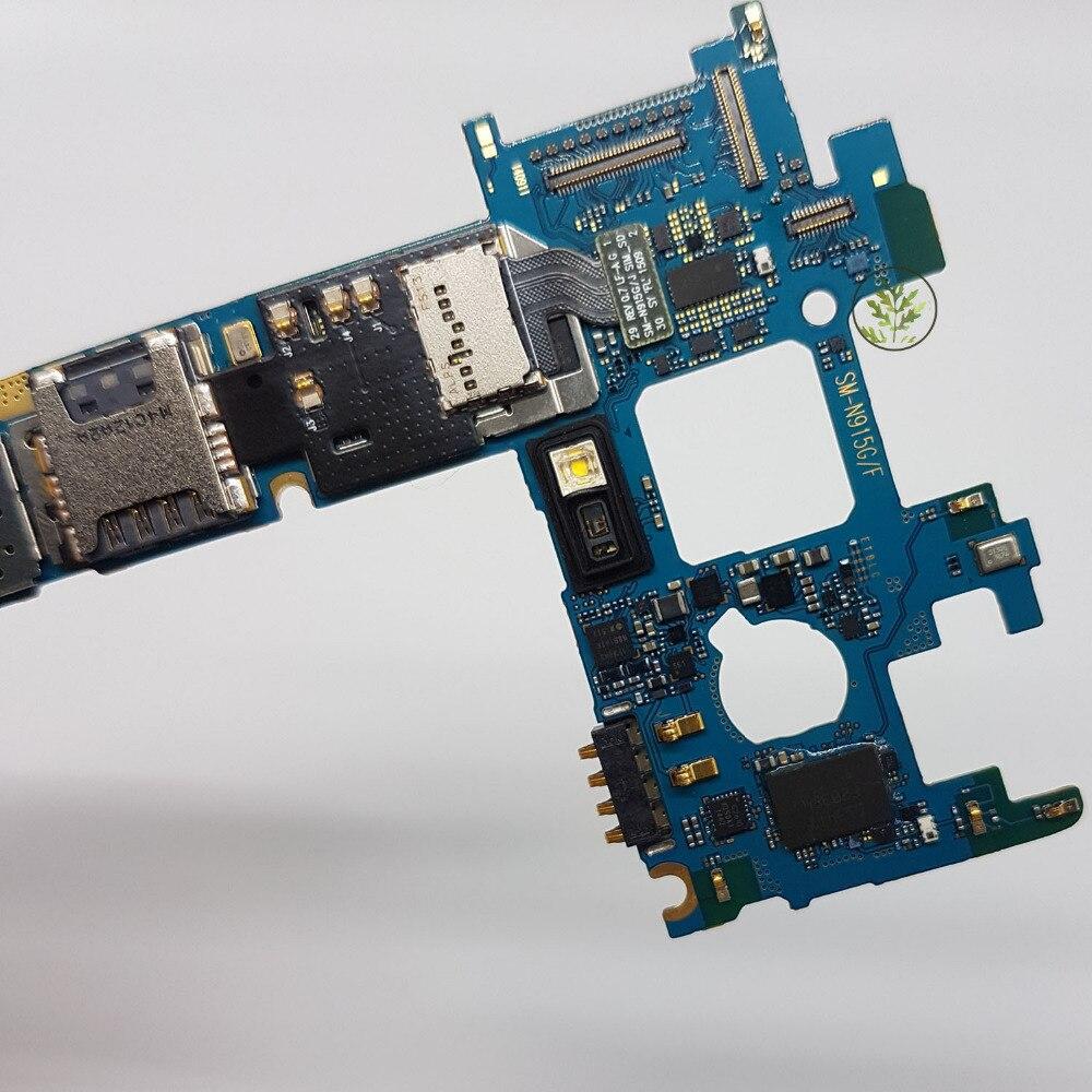 BINYEAE Original desbloqueado N915FY principal placa base limpia Imei 32 GB junta para reemplazo para Samsung Galaxy nota borde N915FY N915F