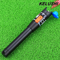 KELUSHI 10mW Visual Fault Locator red light source Fiber Optic Cable Tester Power Meter Testing Tool 2.5mm ST/SC/ FC Connector