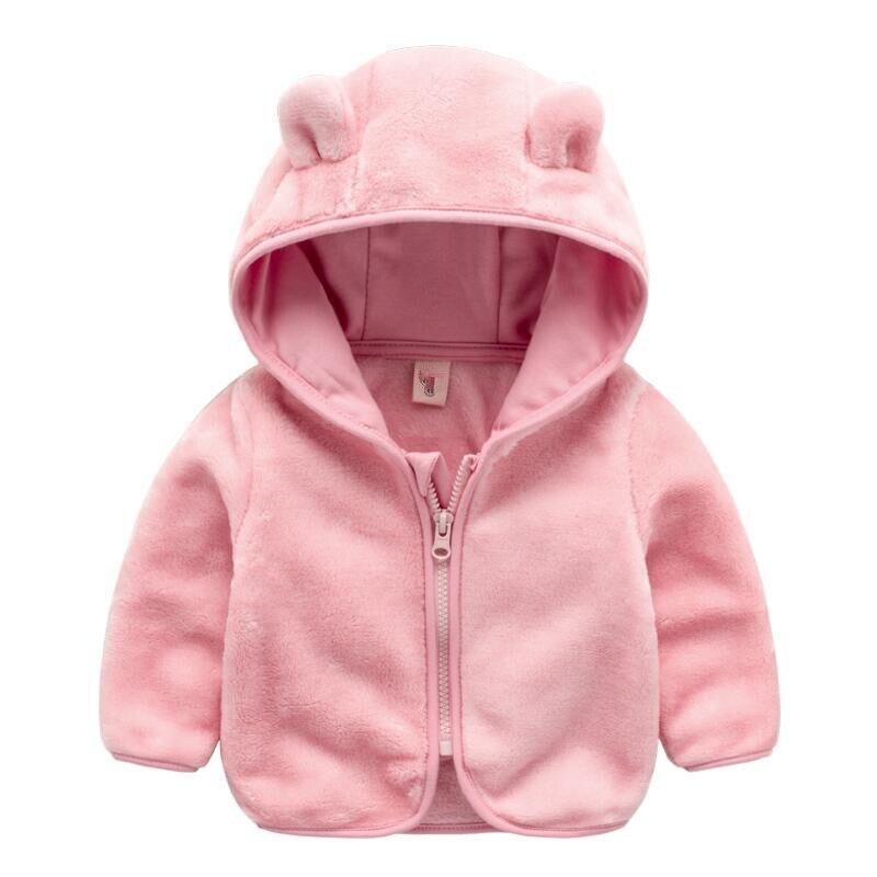 Новинка 2018 г. Весенние orangemom Официальный Куртка для малыша флисовая Детская куртка 6 м-24 м одежда для маленькой девочки, очень милая одежда дл...