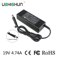 19v4. 74a adattatore ac per hp 6535 s, 6570b, 6530 s, 6930 p, 6530b, probook 430 g1 laptop charger power supply 7.4mm * 5.0mm spina