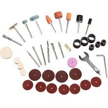 40 Stks/set Elektrische Grinder Rotary Tool Accessoire Bit Voor Slijpen Schuren Polijsten Disc Wiel Tip Cutter Boor Disc