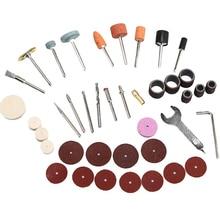 Ensemble daccessoires pour meuleuse électrique, ensemble de mèches pour meuleuse électrique, outil rotatif, disque de ponçage, disque de polissage, disque de coupe pointe de roue 40 pièces