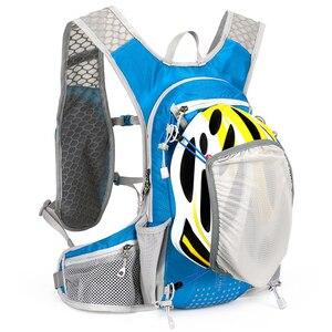 Novo design 12l saco de hidratação da bicicleta portátil água ciclismo saco esportes caminhadas mochila mini saco da bicicleta do esporte correndo sacos ombro