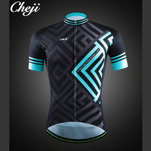 395a1af69 CHEJI Men Cycling Jersey Retro Reflective Mtb Bike Bicycle Clothing Ropa  Ciclismo Racing Fit Maillot Ciclismo CHEJI