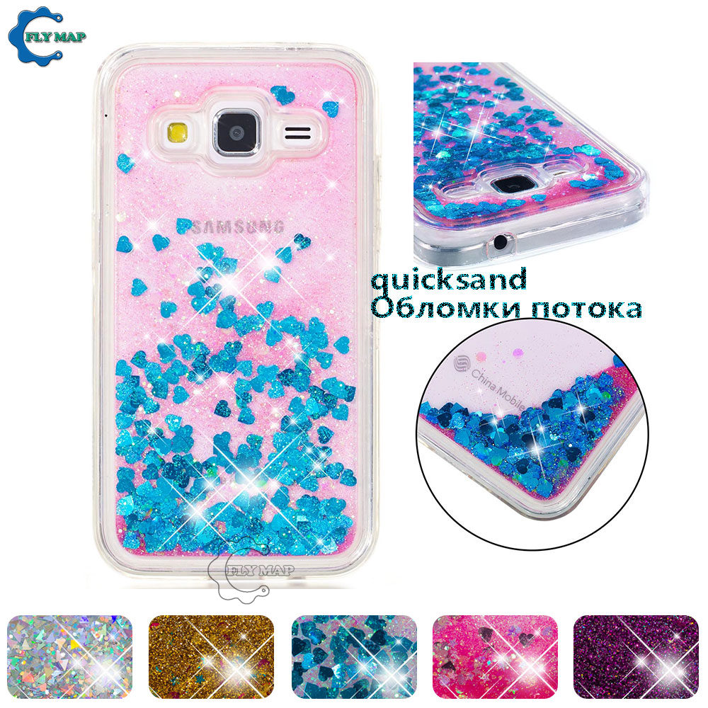 Phone Bags & Cases Considerate Liquid Case For Samsung Galaxy Core Prime G361 G361f Sm-g361f G361h/ds Sm-g361h Case Dynamic Quicksand Glitter Stars Phone Cover