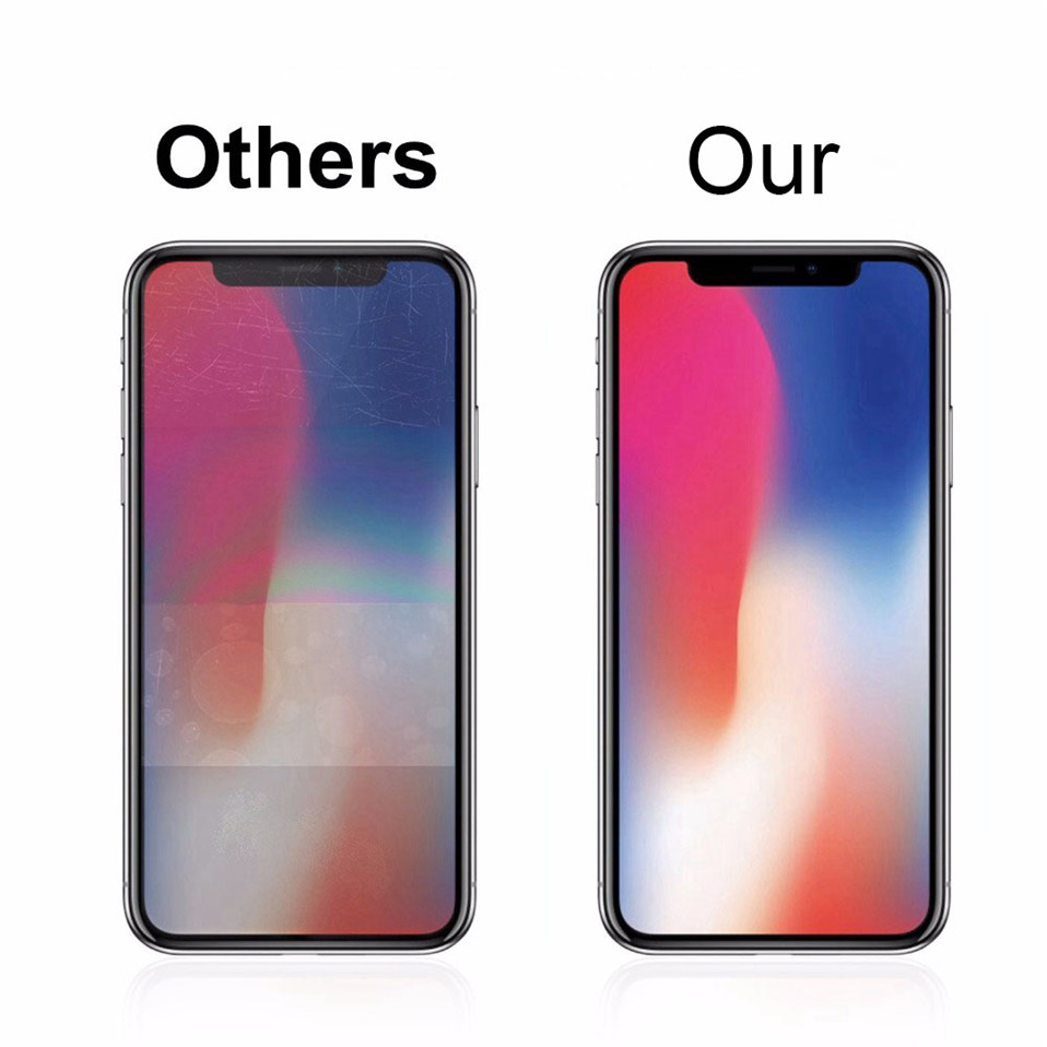9H Screen Protector For iphone X XS Max XR 07
