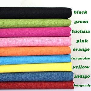 Покрытая льняная ткань, диванные подушки Fabirc, ручная работа, швейная ткань, для улицы, льняная смесь, ткань для обивки, 58 дюймов, широкий разм...