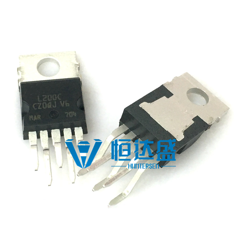 1pcs L200C  L200CV L200CV L200 40V Dip TO-220-5 Leg Bending Leg Original Regulator Regulator