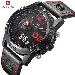NAVIFORCE Watches Men Fashion Casual Back Light Watches Quartz Wristwatches Army Military Clock Waterproof Relogio Masculino