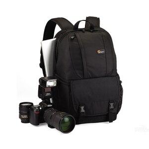 """Image 2 - Venda quente genuíno lowepro fastpack 250 fp250 slr câmera digital bolsa de ombro 15.4 """"polegadas portátil com todos os tempos capa chuva"""