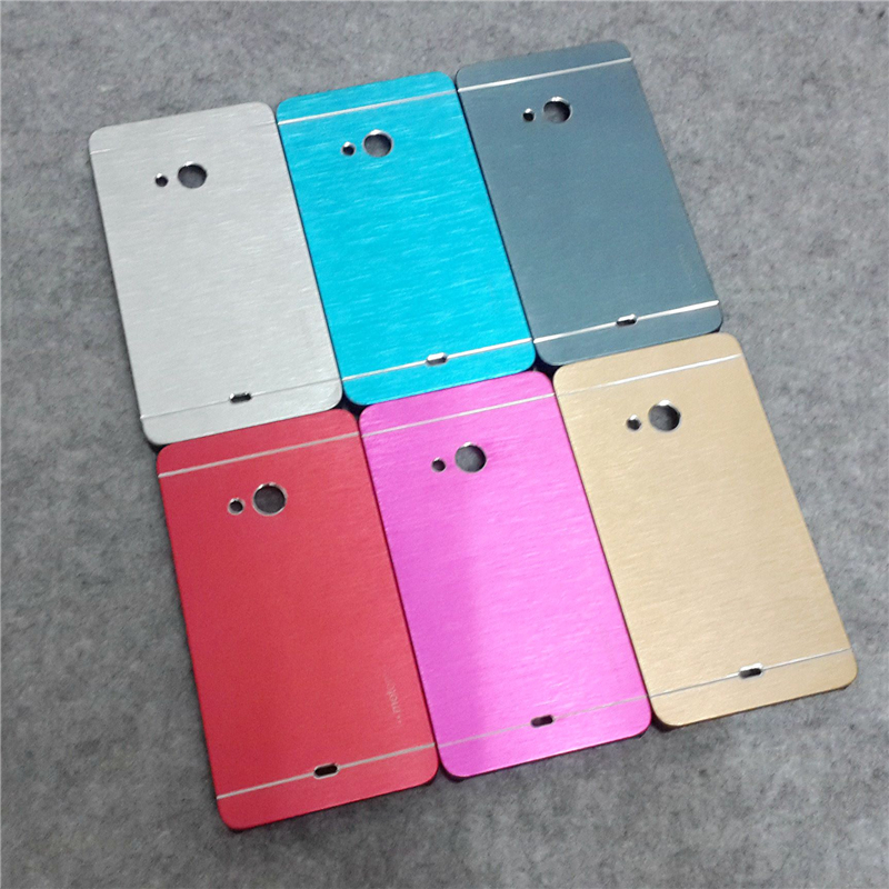 Luxury brushed aluminum slim mobile phons