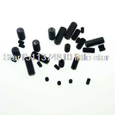 Lot100 <font><b>M3x6mm</b></font> Head Hex Socket Set Grub Screws Metric Threaded Cup Point image