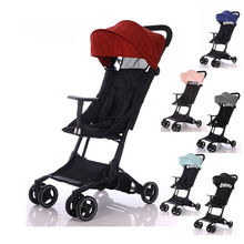 Baby trolley Mini Lightweight stroller Portable folding carriage 2 in 1 Easy to travel car Very lightweight