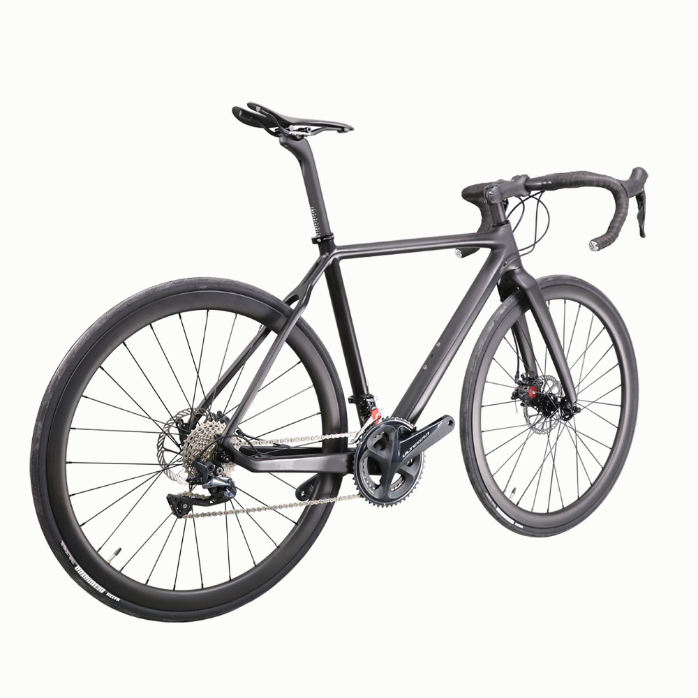 HTB1F2jLhCtYBeNjSspaq6yOOFXaW - ICAN measurement 51/53/55/57cm double disc brake Tremendous Mild excessive finish Carbon Bike 8.22kg with Shiman R8000 groupset