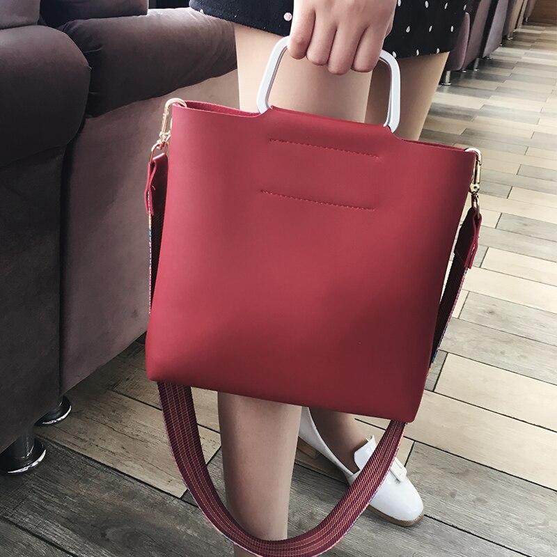 mulheres cinta larga ombro bolsa Bag Estilo : Handbag