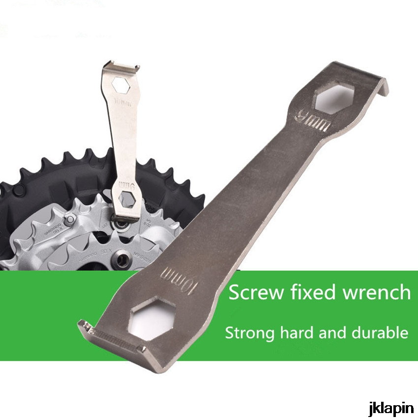 Mountain Bike Spanner Wrench Fixing Tool Dental Disk Spool Removal And Installation Chainwheel Flat-head Screwdriver