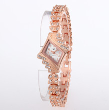2019 Women's Watches Rose Gold Bracelet Ladies Watch Women Luxury Rhinestone Wrist Watches Women Gift bayan kol saati Clock цена и фото
