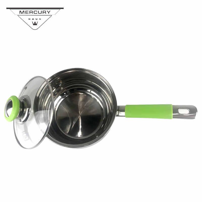 6 шт. Меркурий Haus Нержавеющая сталь кухонная кастрюля набор кастрюль набор посуды индукционная плита кухонные наборы