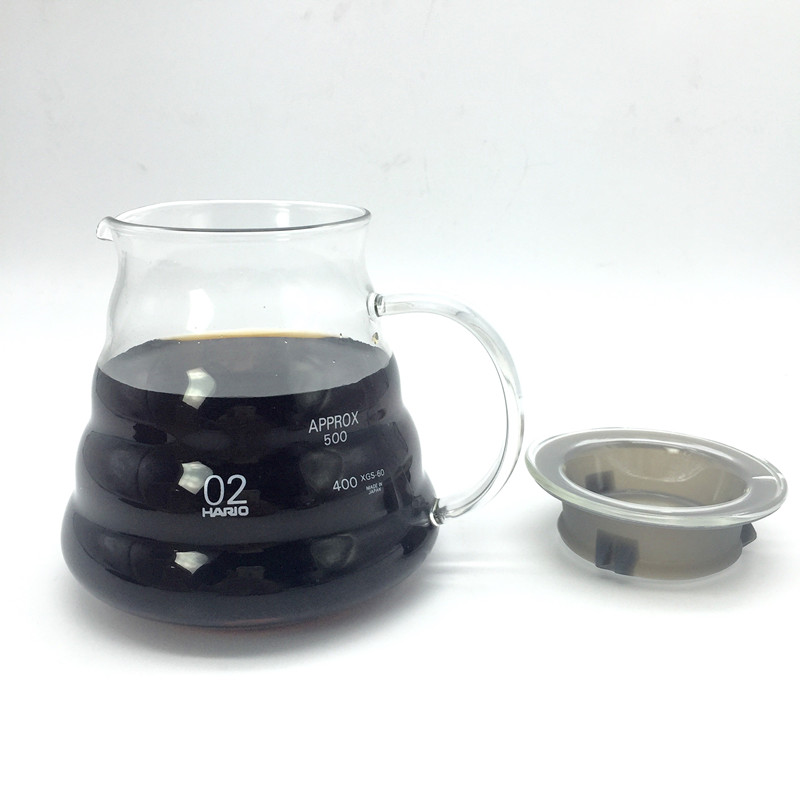 580ML large capacity glass coffee pots / Creative clouds shapes a kettle coffee percolator and tea pot kitchen tools