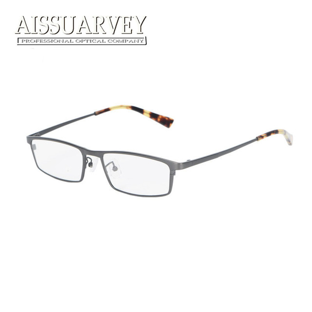d24ad3858a Titanium glasses frames for men eyewear optical eyeglasses fashion brand  designer prescription clear lenses square business