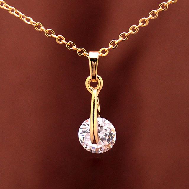 Trendy Pendant Necklace Earrings Sets For Women