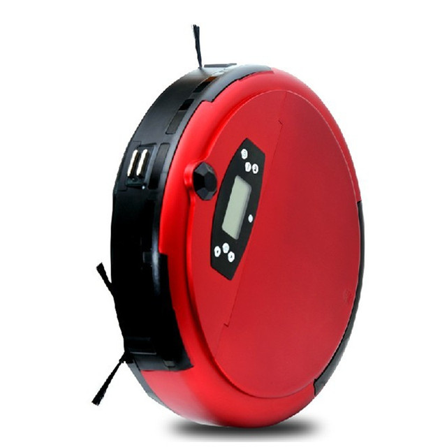 Ultra-thin mute household robot intelligent vacuum cleaner robot