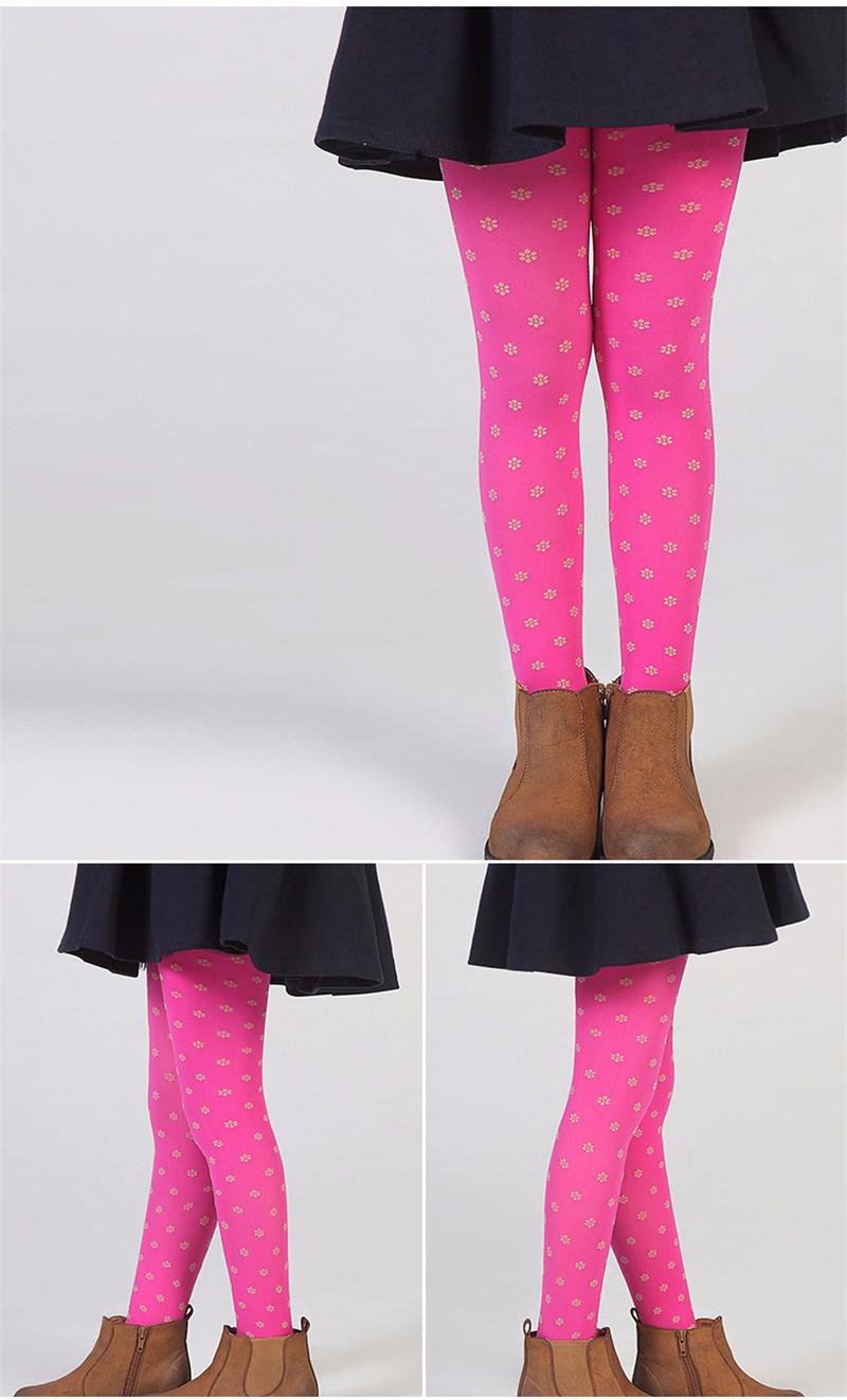 Warm Children Girls Pantyhose  (7)