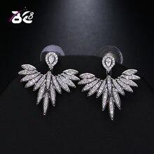 Женские серьги гвоздики be 8 роскошные милые для подарка элегантные
