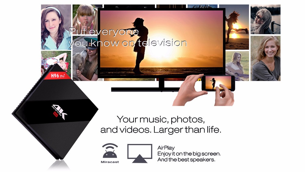 H96 pro-S912 android 6.0 marshmallow tv box 3g_32g oem
