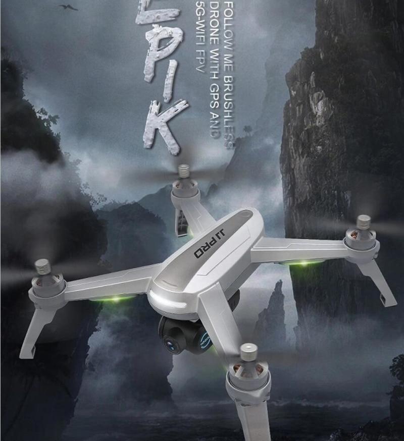 JJPRO X5 plus récent GPS/Wifi suivez-moi drone avec 1080 P 5G wifi caméra orbite fonction 90 degrés servos caméra ajuster le degré VS B5W