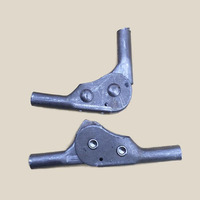 Adjustable Angle Furniture Hardware 90 Degrees Sofa Folding Hinge X2