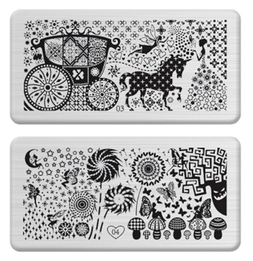 New Arrival Designs Optional Nail Art Image Stamping Plates