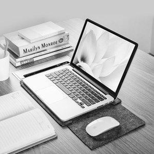 "Image 3 - אולטרה רך שרוול מחשב נייד תיק מקרה עבור אפל רשתית 11 12 13 מחשב נייד Stratches הוכחת כיסוי עבור mac ספר 13.3 ""עור"