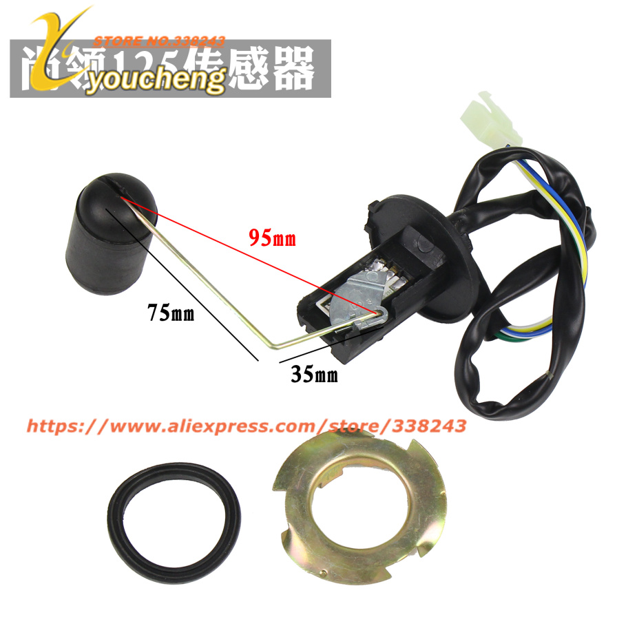 replacement repair scooter fuel level sensor gasoline tank. Black Bedroom Furniture Sets. Home Design Ideas
