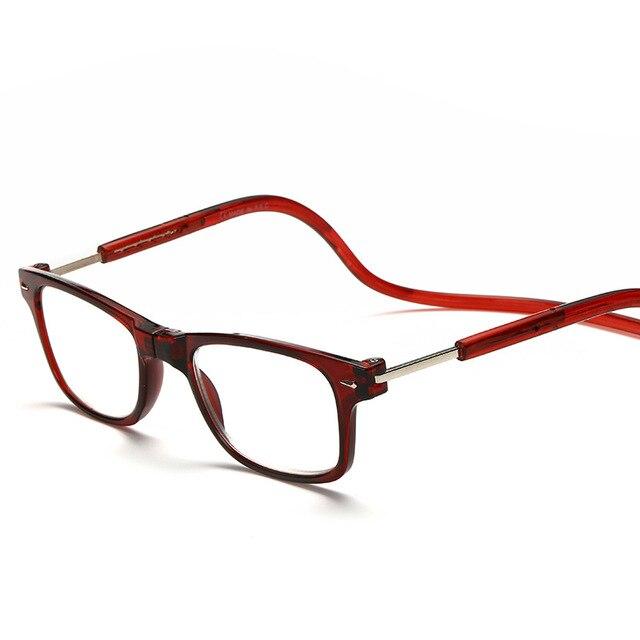 Cheap Reading Glasses Women Men Magnetic Eyeglasses Leopard Frame ...