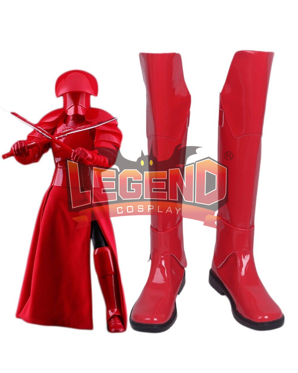 Star Wars: The Last Jedi Praetorian Guard Cosplay Shoes Boots Superhero Halloween Carnival Party Costume