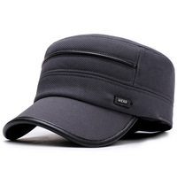 Summer Tide Brand Cap Male Outdoor Street Hipster Baseball Cap Black Embroidery Simple Youth Hip Hop