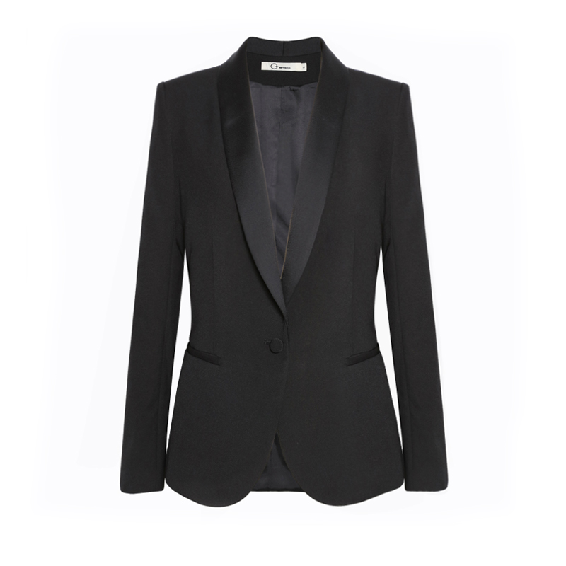black Pantsuits With Jackets And Pants Office ladies Business Women Pant Suits Female Trousers Sets