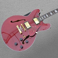 2018 New Electric Guitar Color shell inlay and surrounded by the body Hot quality electric guitar