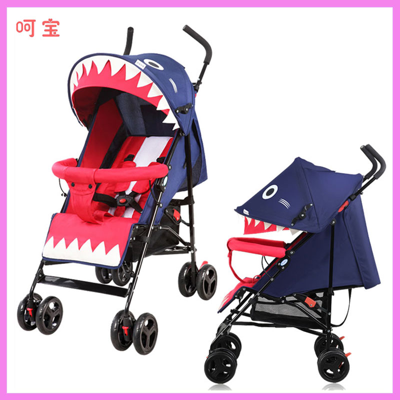 HOPE Baby Stroller Ultra-light Portable Can Sit Lie Flat Baby Stroller Baby Carriage Suspension Trolley Folding Baby Car Pram hot selling baby stroller ultra spring shock absorption baby pram sgs was approved