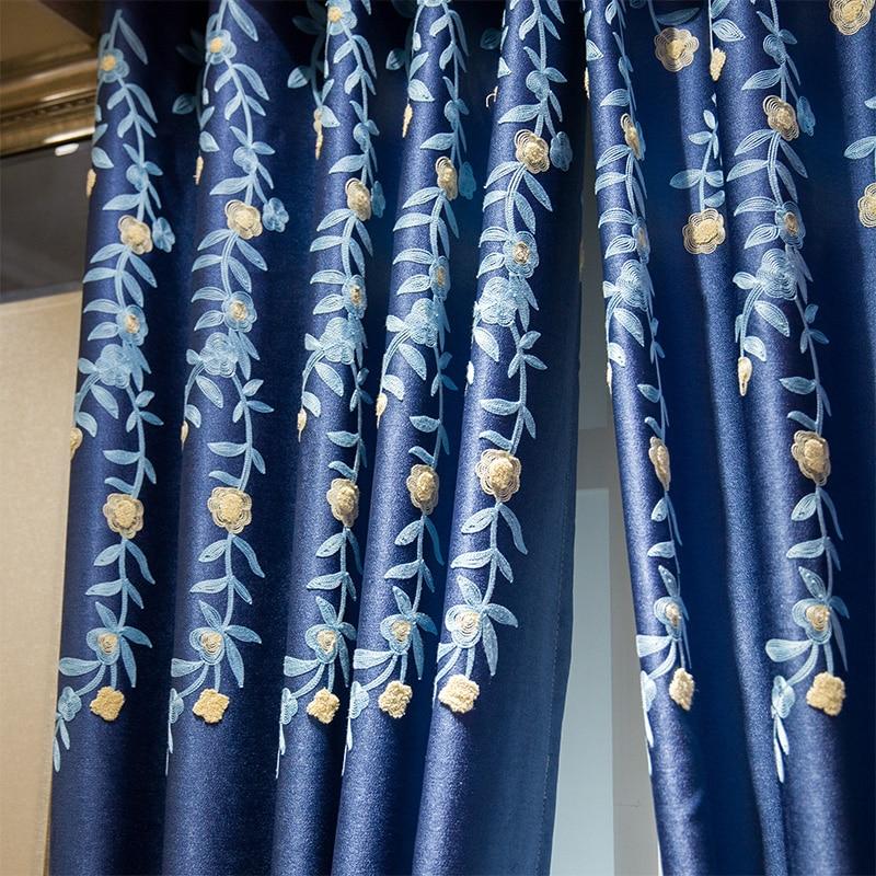Cortina del apagón ¡Envío gratis! Azul de alta calidad - Textiles para el hogar