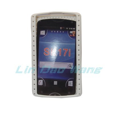Mesh Hard Plastic Case Cover For Sony Ericsson Xperia Mini Pro SK17i