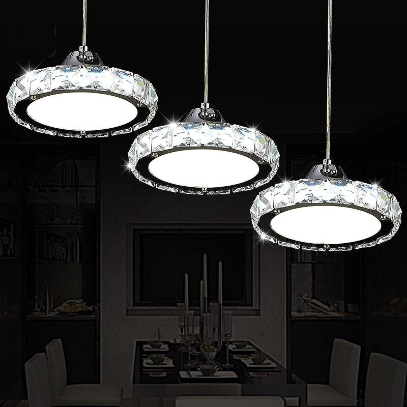 Restaurant kronleuchter kristall lampe drei einfache moderne ...