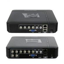 TVI CVI AHD CVBS 5 в 1 DVR NVR 1080N 4CH 8CH H.264 HDMI системы видеонаблюдения 1080 P мини видеорегистратор для комплект видеонаблюдения DVR 8-канальный DVR PTZ