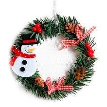 Ozdobne świąteczne wieńce
