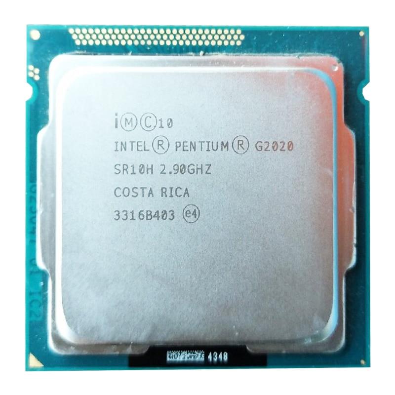 Intel G2020 dual core CPU LGA1155 /2.9Ghz compatibility H81 B85 B75 motherboard original g2020 cpu