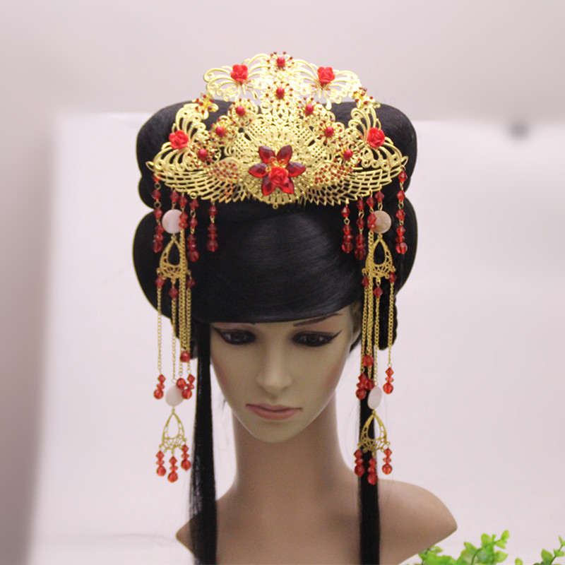 Kids Costumes & Accessories Novelty & Special Use 4 Colors Handmade Warrior Hair Accessories Swordsman Cosplay Chinese Ancient Hair Accessories Crown Halloween Prince Cosplay