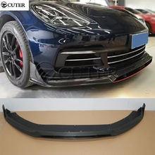Новейший спойлер для переднего бампера автомобиля Из 971 углеродного